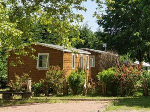 Mobile Home Location dans le camping des 2 rives en Bourgogne l Parc Morvan