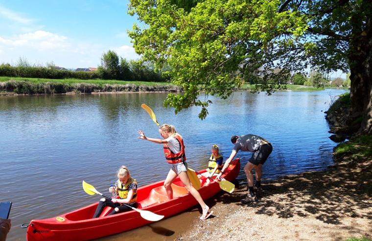 canoe kayak camping bourgogne