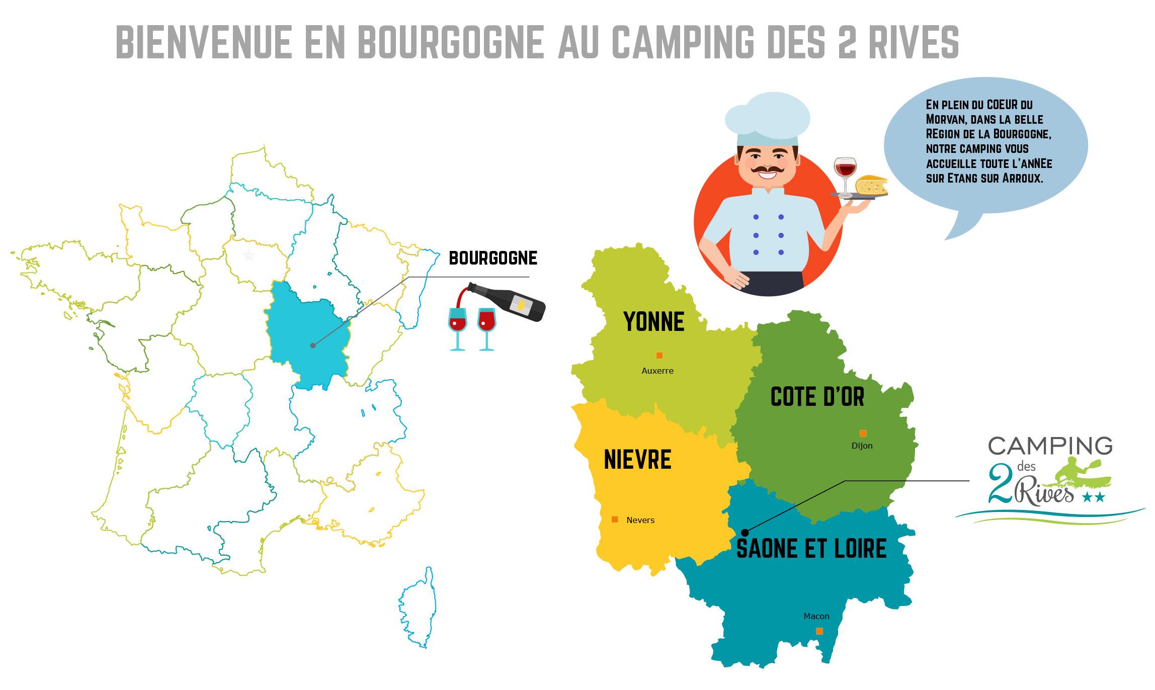 Bourgogne: riche en culture & gastronomie
